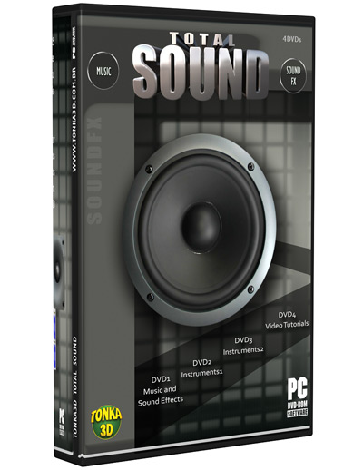 tonka3d videoaulas, efeitos sonoros e trilhas sonoras